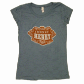 Johnny Henry Slate Blue Burnout Tee